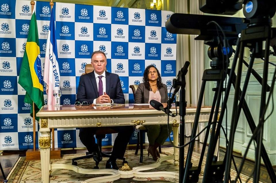 Casagrande pede união e responsabilidade em reunião com presidente