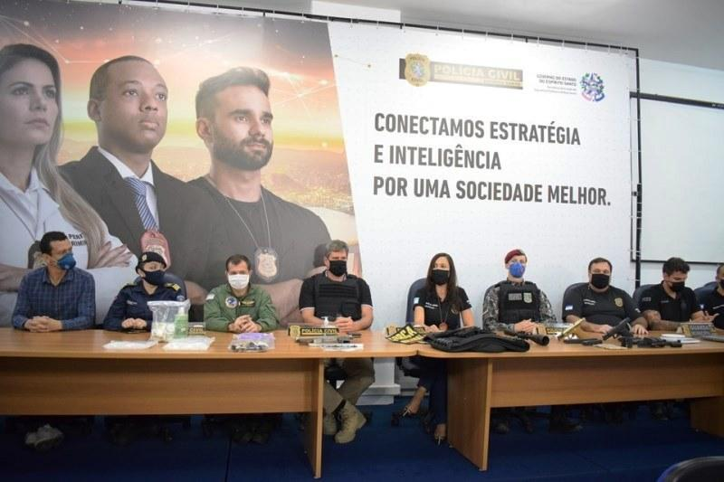 Operação 'Caim VI' resulta em 52 prisões em todo o Espírito Santo