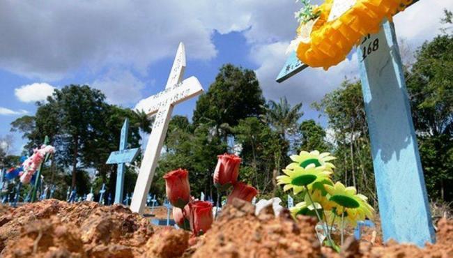 Brasil chega próximo da marca de 550 mil mortes pela Covid-19