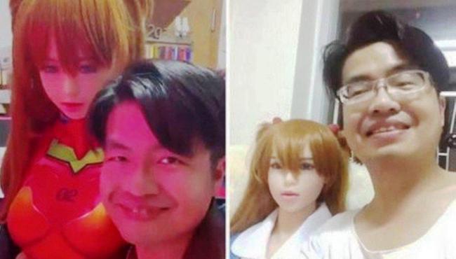 """Chinês fica noivo de boneca sexual """"porque ela não pede coisas"""""""