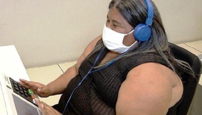 Eleitor com deficiência visual poderá ouvir nome do candidato na urna