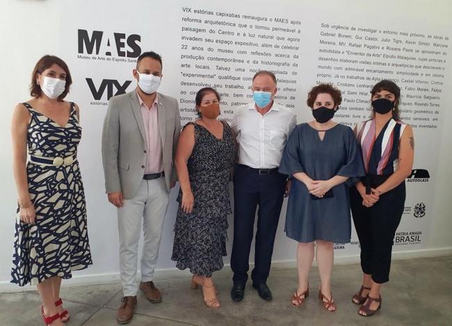 Governo do ES reabre Museu de Arte do Espírito Santo Dionísio Del Santo após reforma
