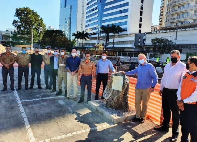 Governo Renato Casagrande lança pedra fundamental do Centro de Inteligência da Defesa Civil