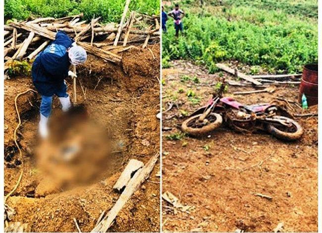 Homem mata amigo e enterra o corpo e a moto no quintal de casa