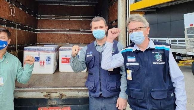 Nésio Fernandes prevê chegada de novos lotes de vacina nos próximos 10 dias, no ES